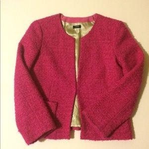 JCrew Pink Astrid Boucle Jacket